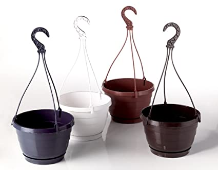 Hanging Plastic Rounded pot