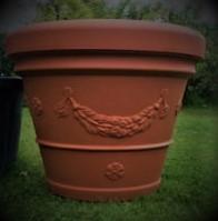 Vaso Milo  Plastic Heavy duty Pot